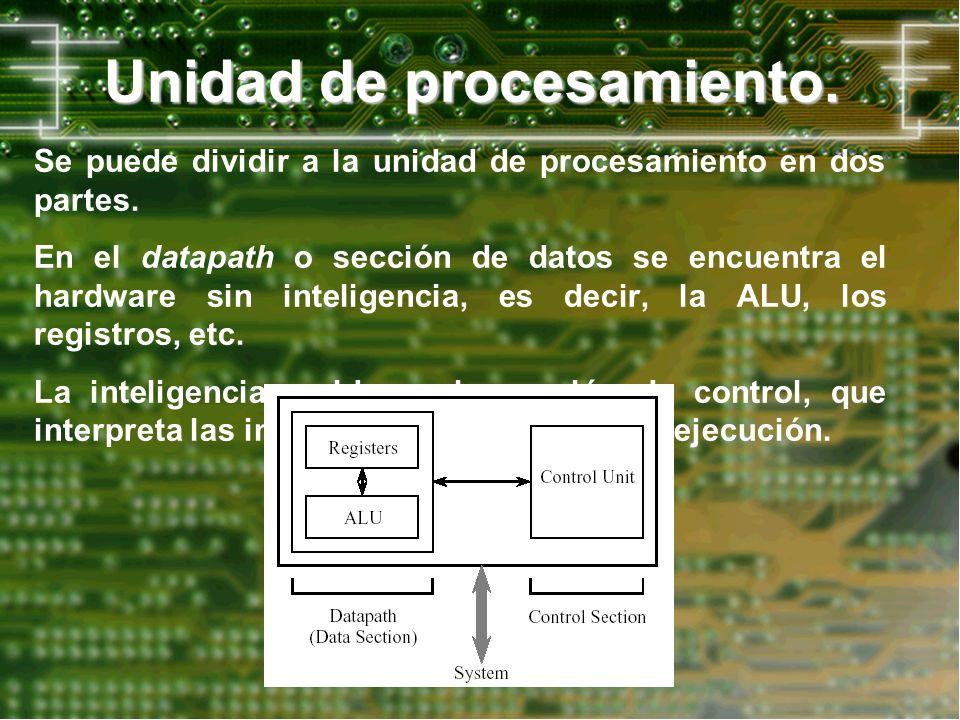 Unidad de procesamiento.