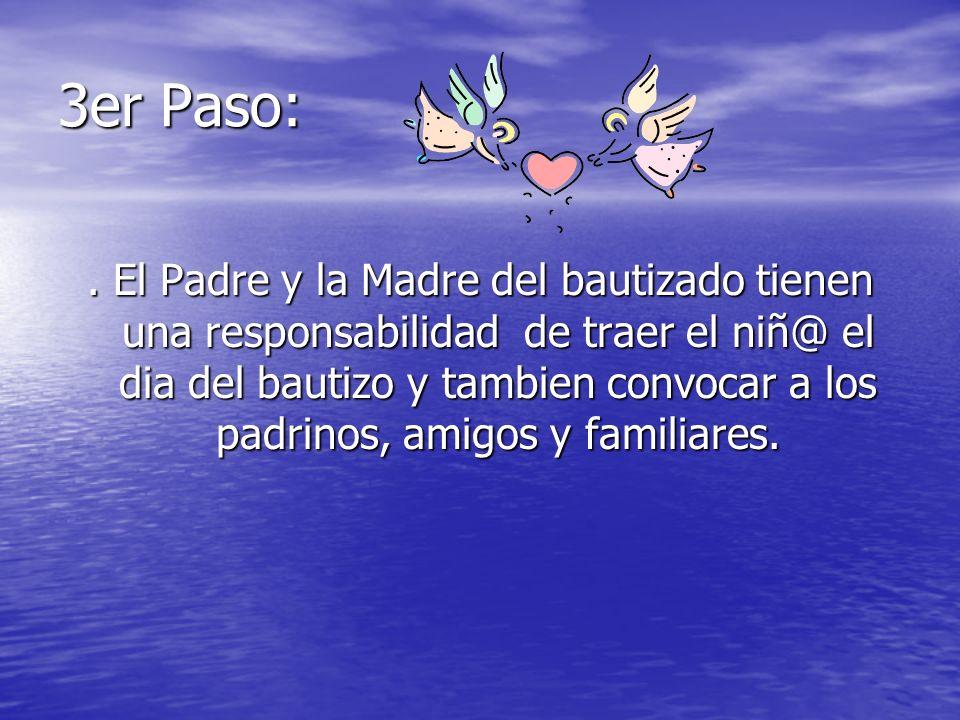 3er Paso: