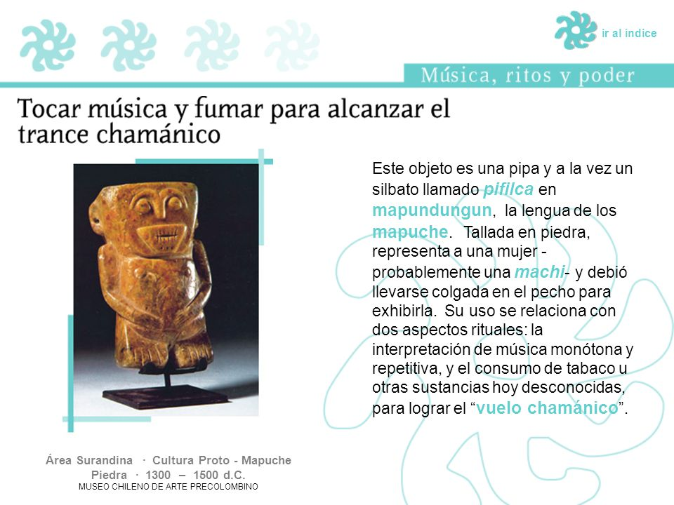 Área Surandina · Cultura Proto - Mapuche Piedra · 1300 – 1500 d.C.
