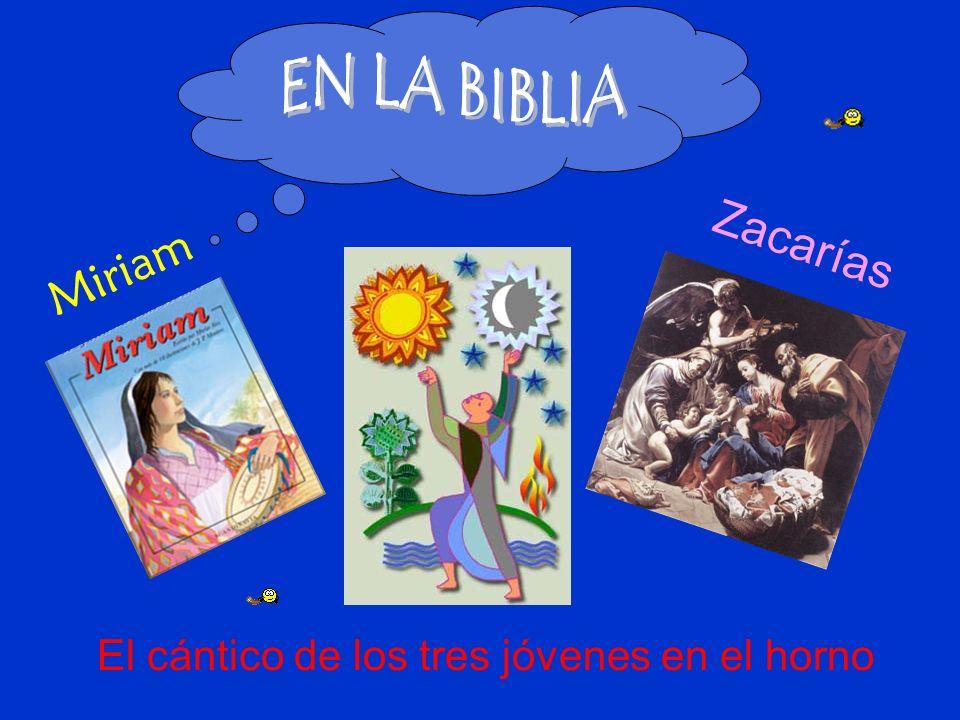 EN LA BIBLIA Zacarías Miriam