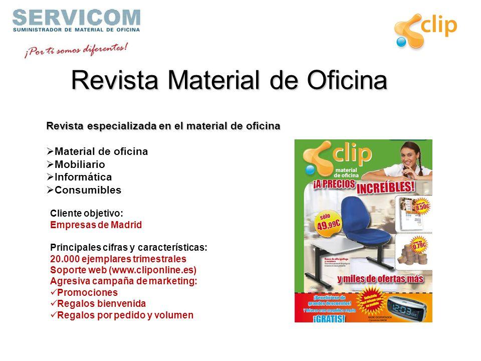 Contenido la empresa grupo servicom objetivo estructura for Material de oficina madrid