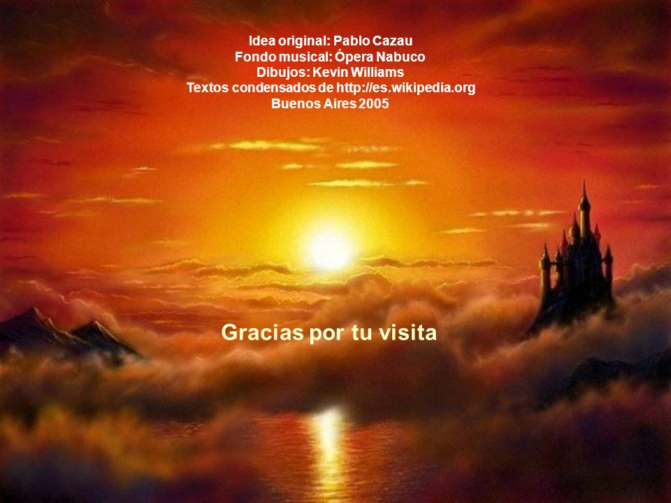 Gracias por tu visita Idea original: Pablo Cazau