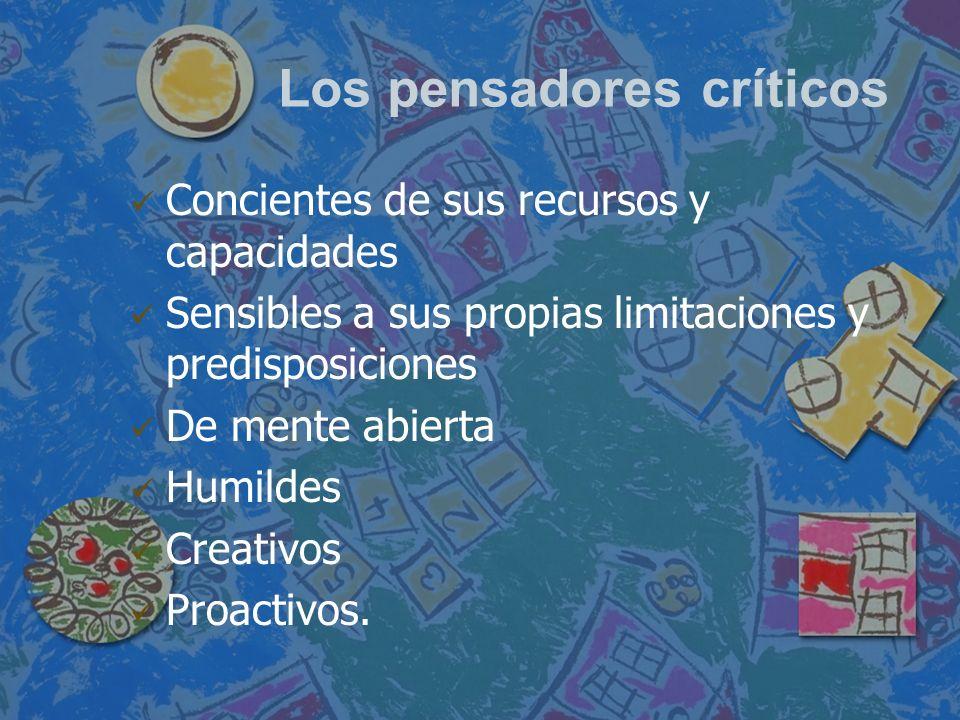 Los pensadores críticos