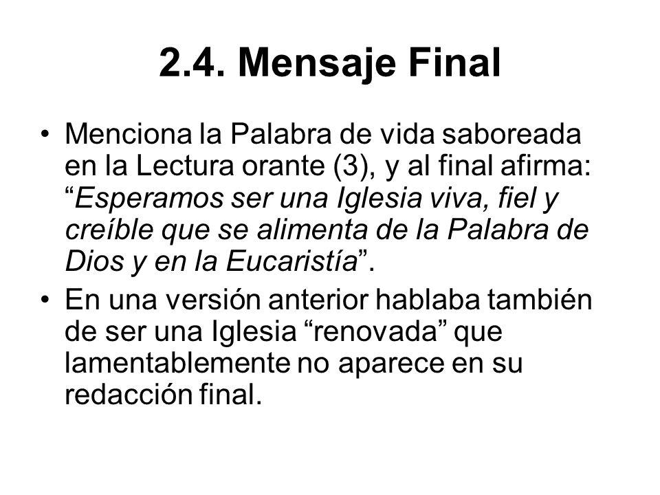 2.4. Mensaje Final