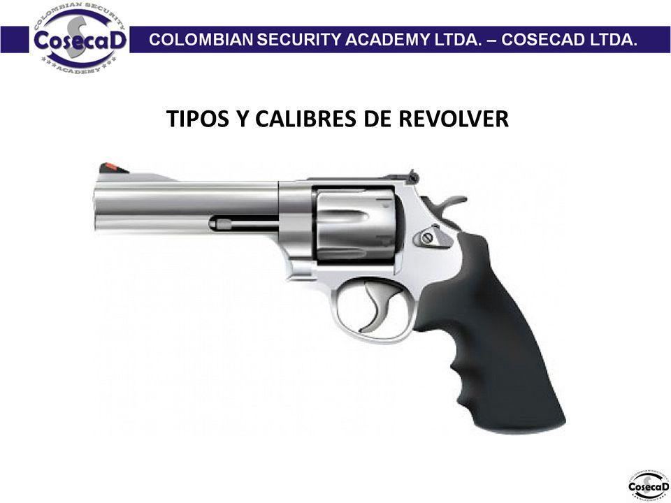 TIPOS Y CALIBRES DE REVOLVER