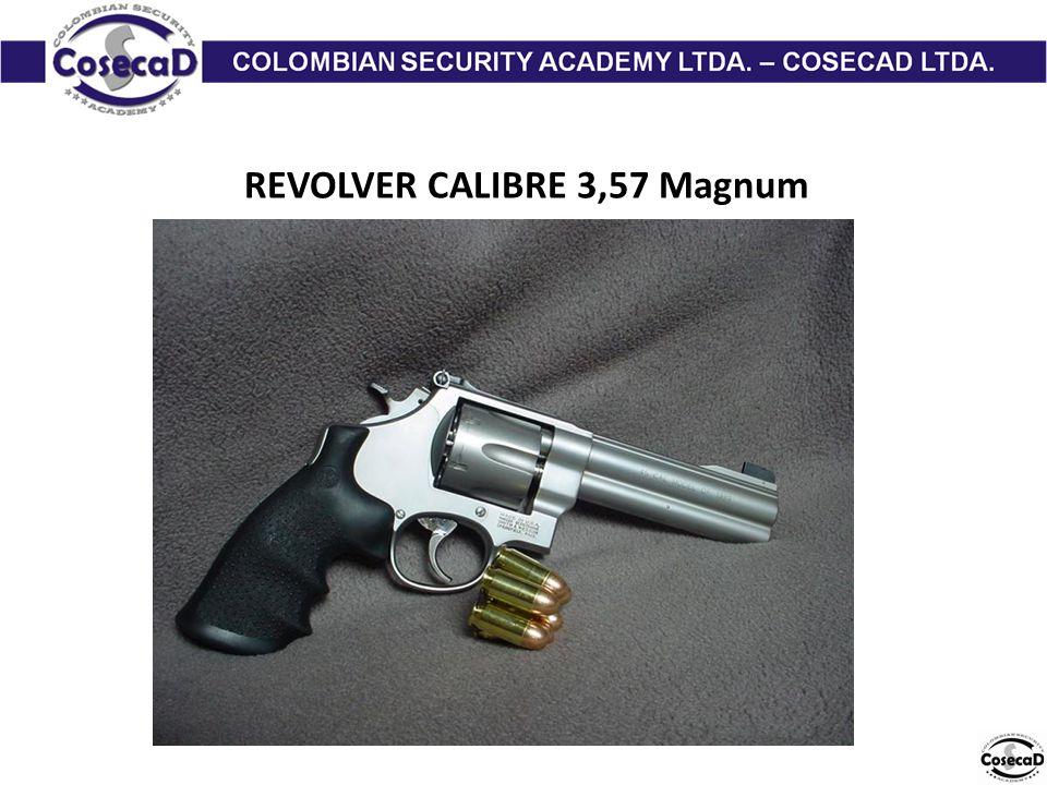 REVOLVER CALIBRE 3,57 Magnum
