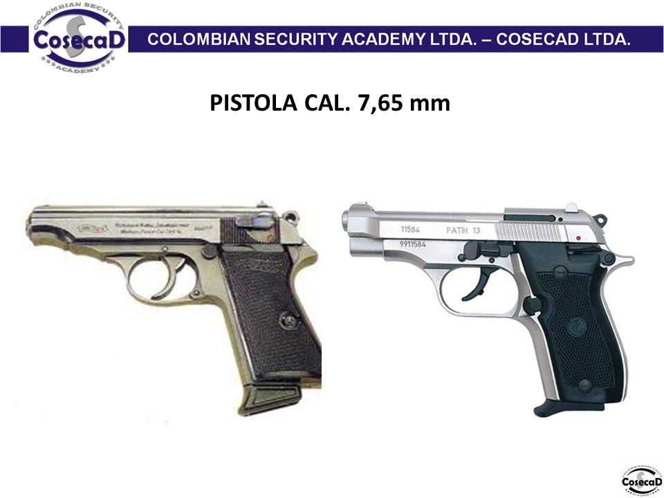 PISTOLA CAL. 7,65 mm