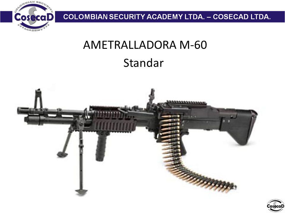 AMETRALLADORA M-60 Standar