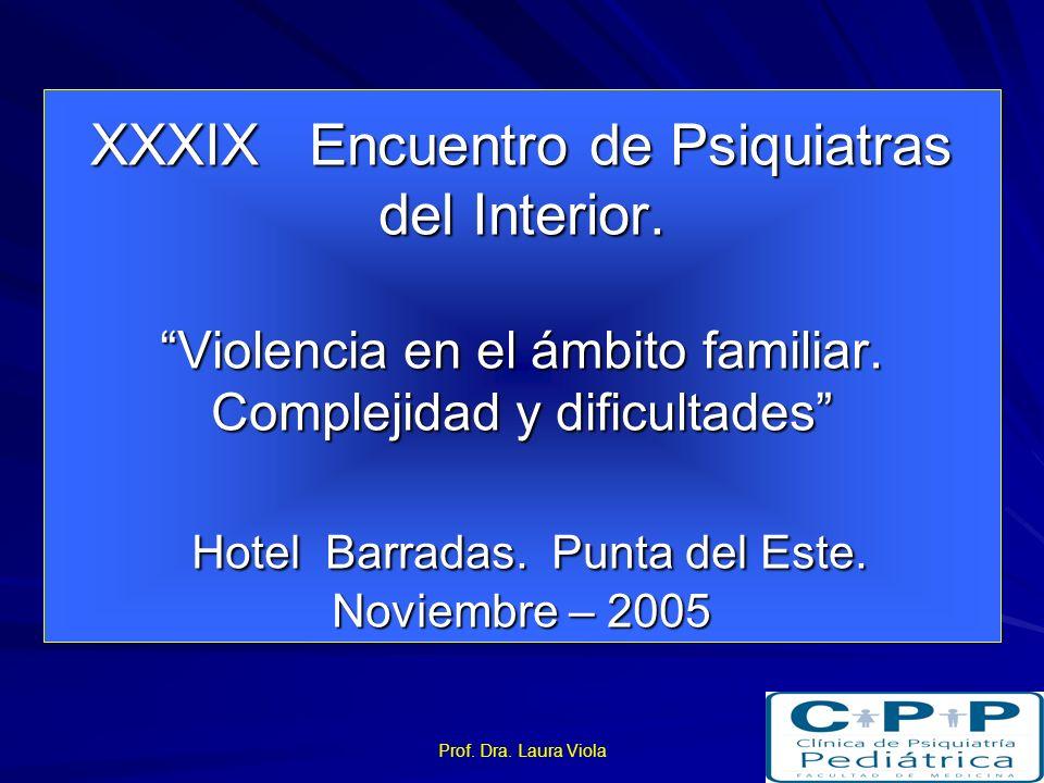 XXXIX Encuentro de Psiquiatras del Interior