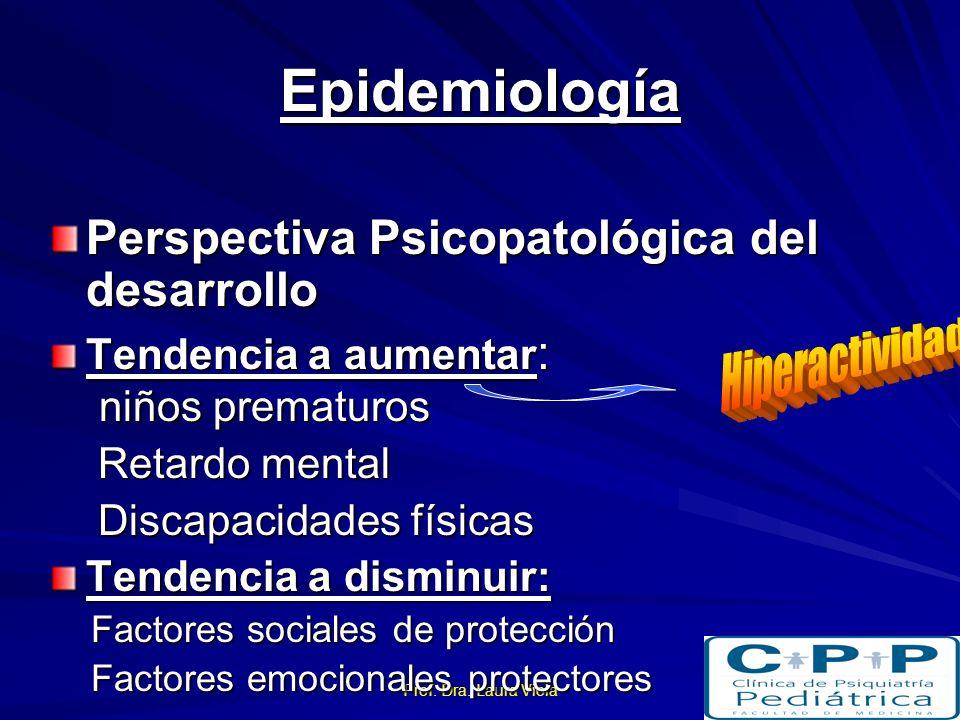 Epidemiología Perspectiva Psicopatológica del desarrollo