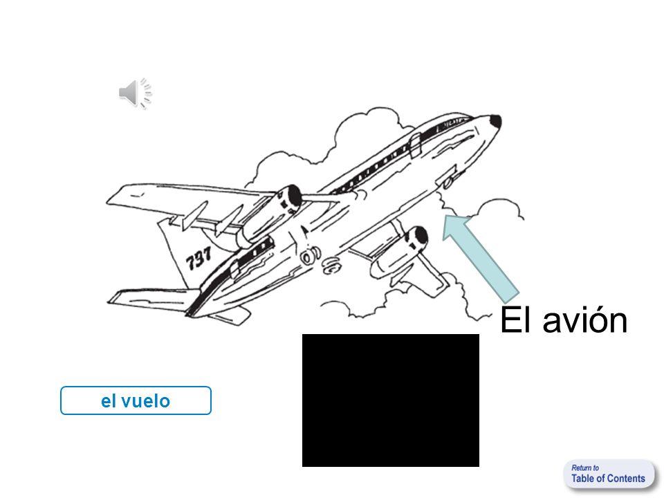El avión el vuelo