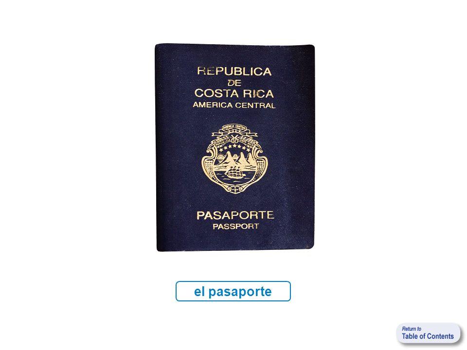 el pasaporte