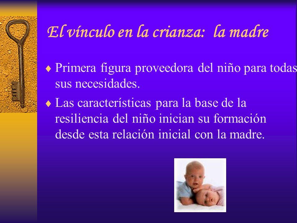 El vínculo en la crianza: la madre