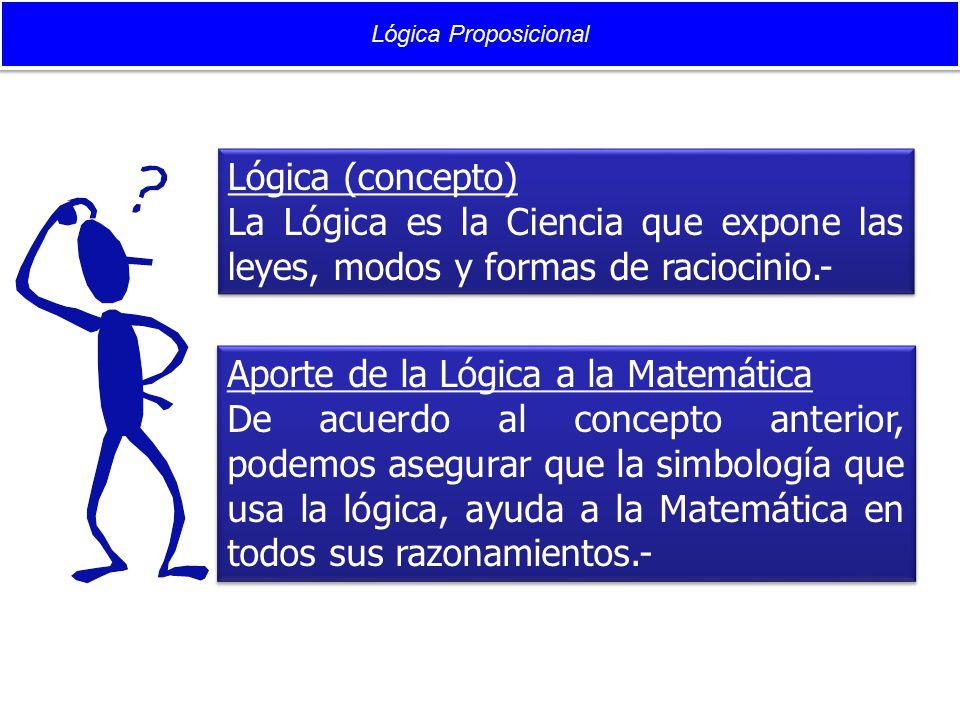 Aporte de la Lógica a la Matemática