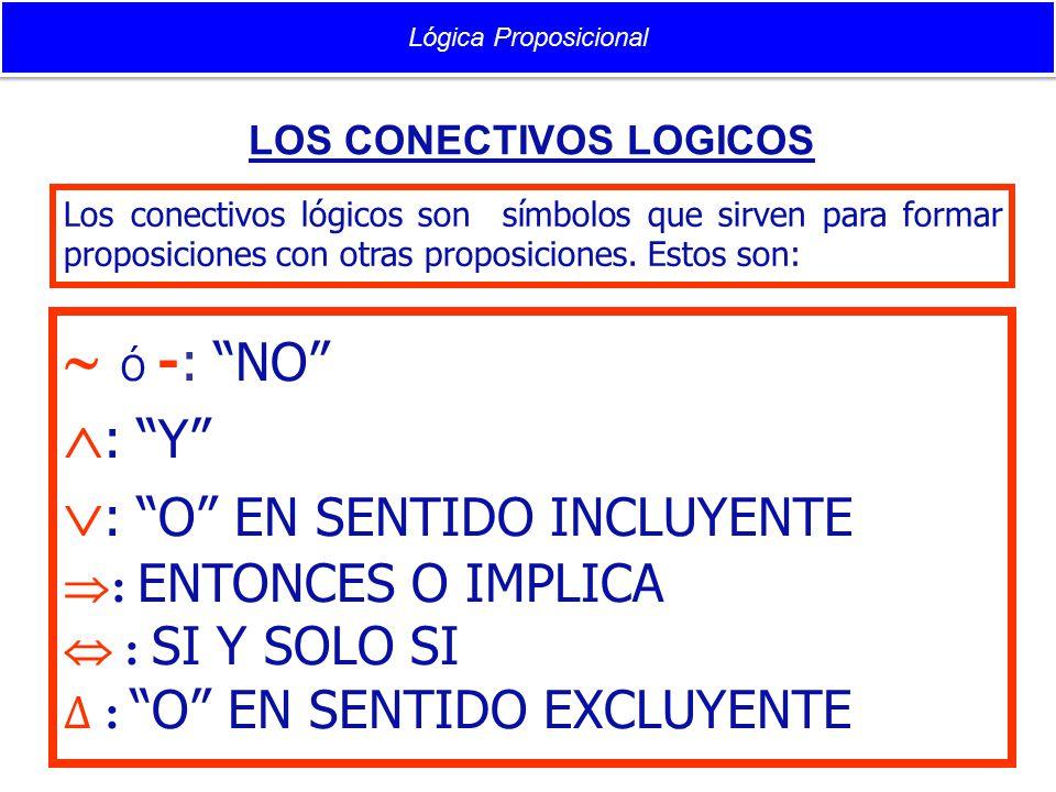 : O EN SENTIDO INCLUYENTE