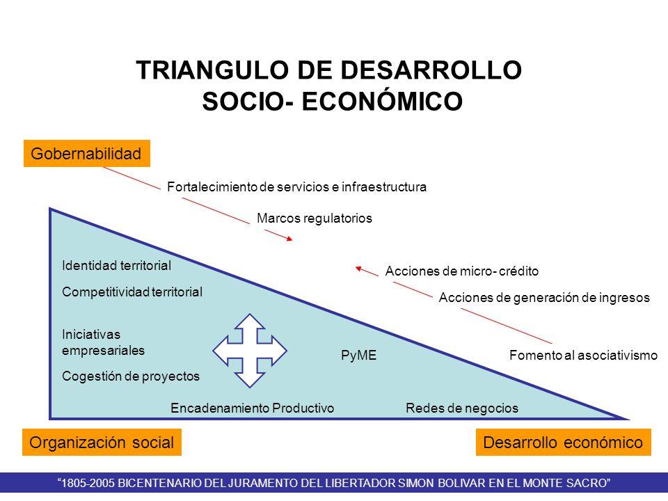 TRIANGULO DE DESARROLLO