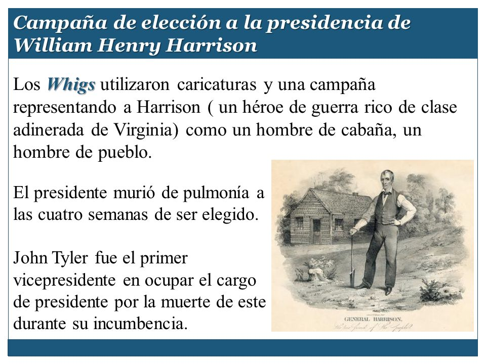 Campaña de elección a la presidencia de William Henry Harrison