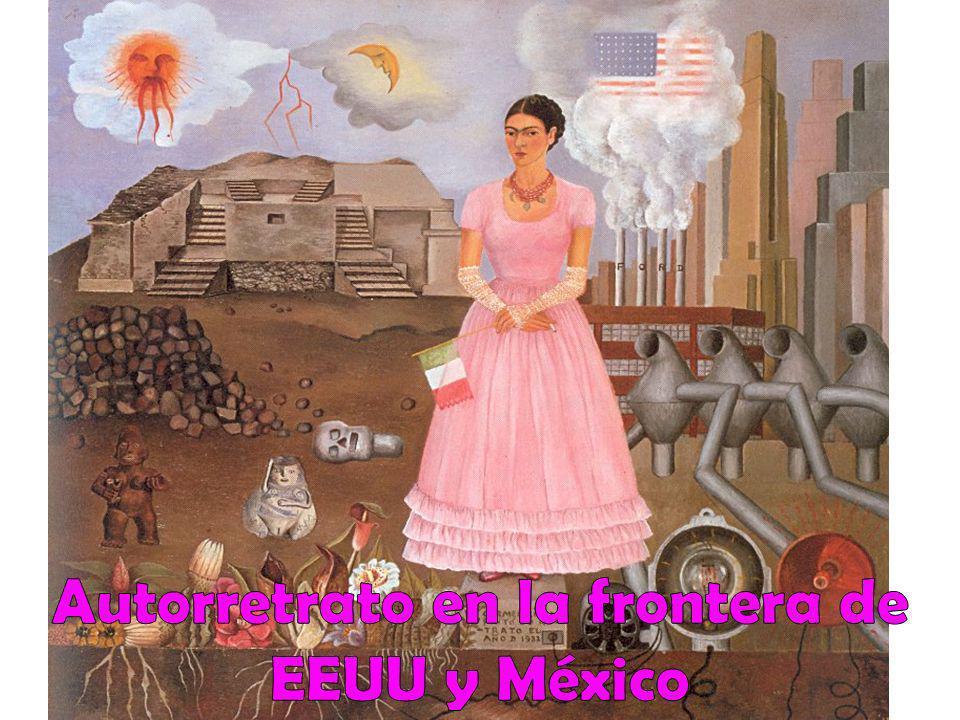 Autorretrato en la frontera de EEUU y México