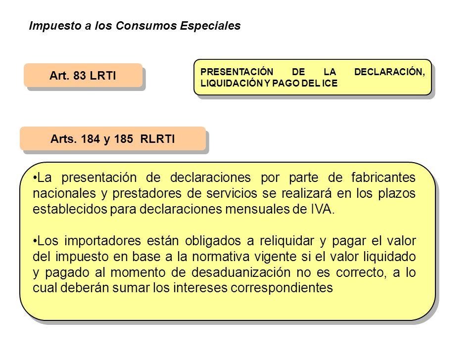 Impuesto a los Consumos Especiales