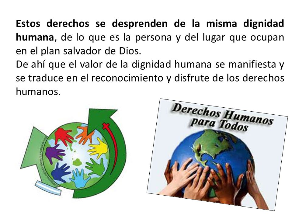 Los Derechos Humanos Como Expresión Social De La Dignidad