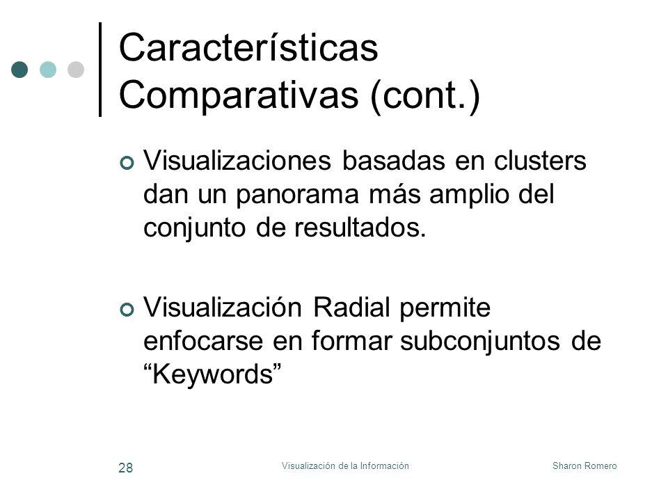 Características Comparativas (cont.)
