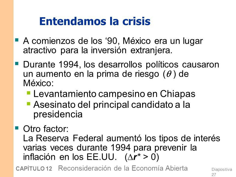 Entendamos la crisis Levantamiento campesino en Chiapas