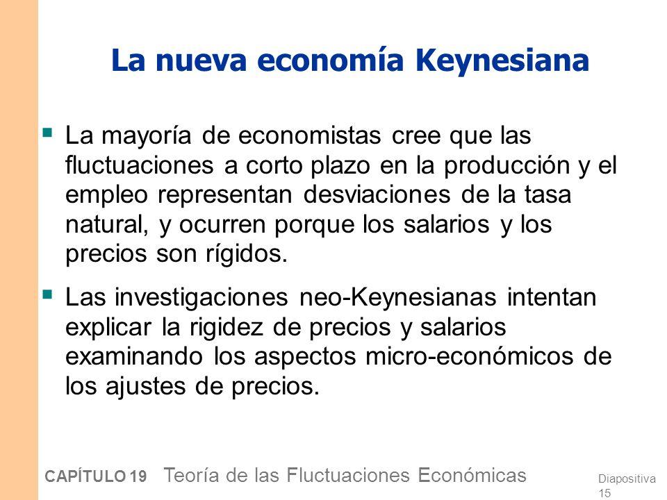 La nueva economía Keynesiana