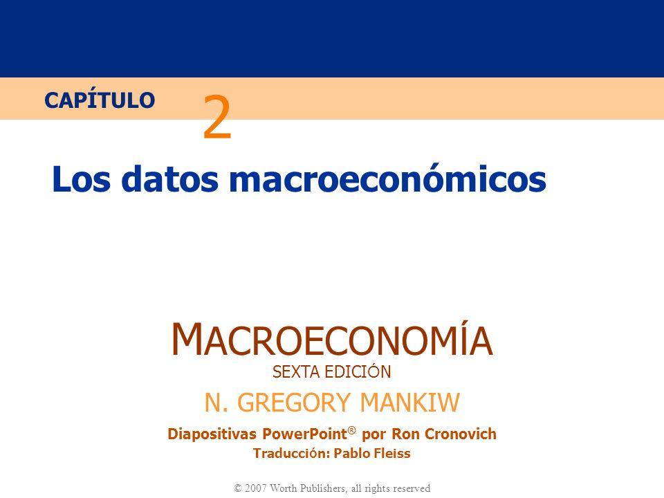 Los datos macroeconómicos
