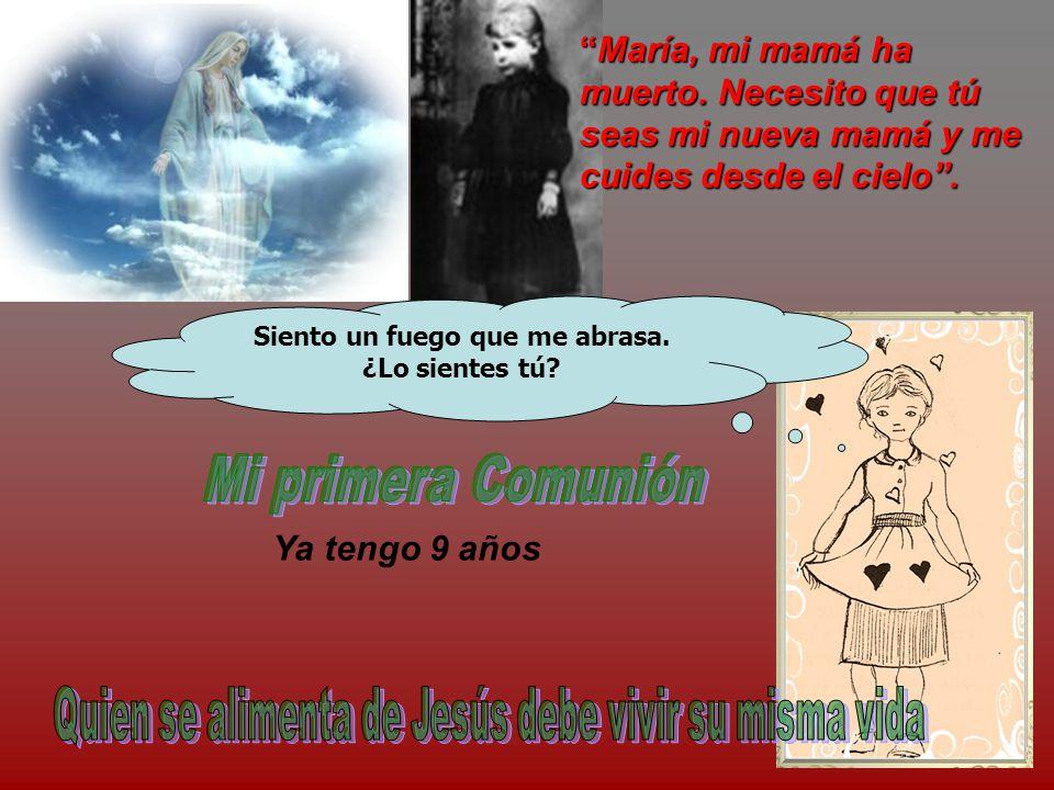 María, mi mamá ha muerto