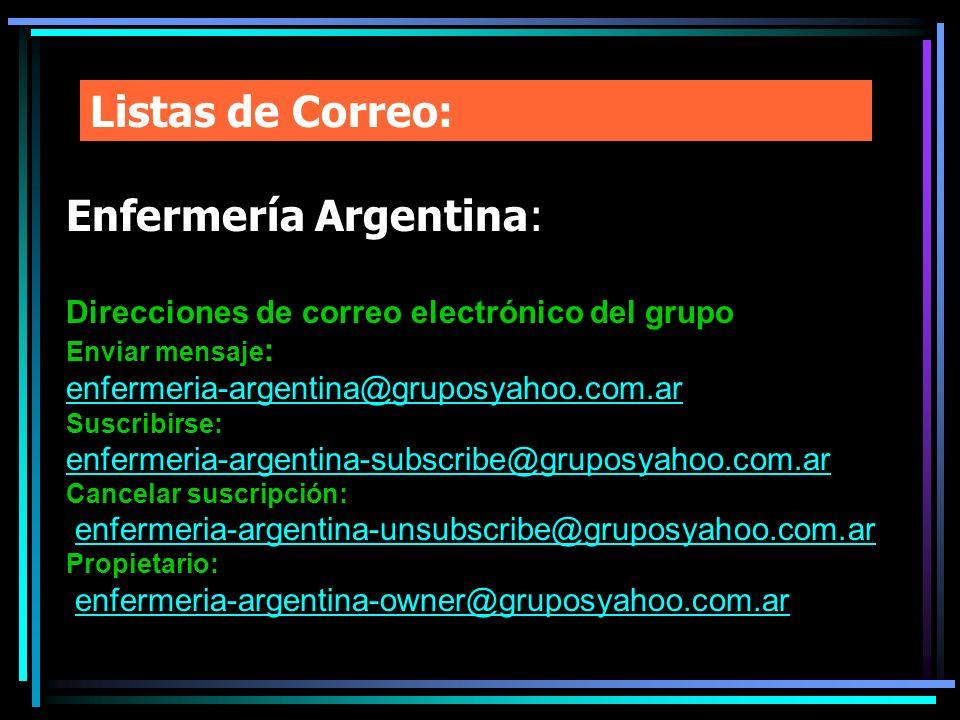 Enfermería Argentina: