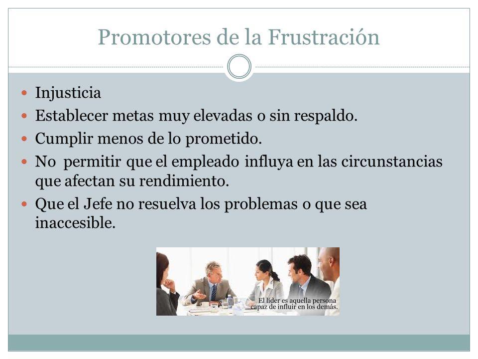 Promotores de la Frustración