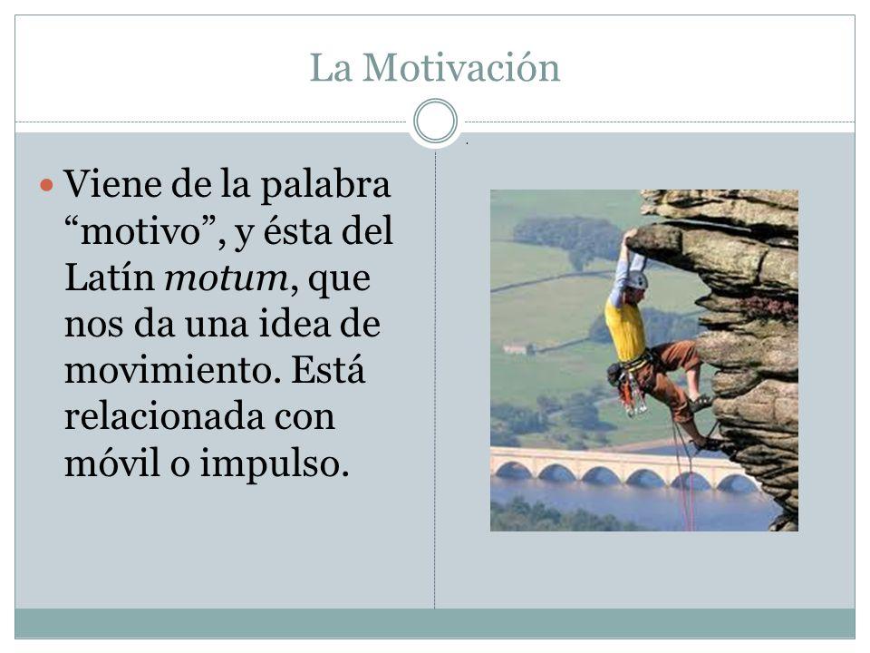 La Motivación .