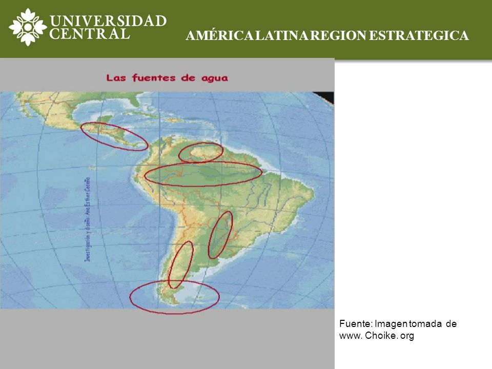 AMÉRICA LATINA REGION ESTRATEGICA