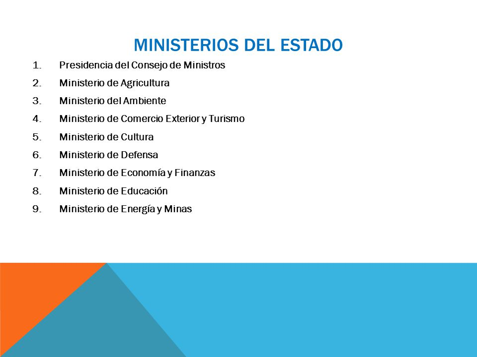 La constituci n pol tica del per y el estado peruano for Ministerio del turismo