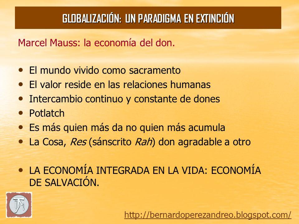 Marcel Mauss: la economía del don.