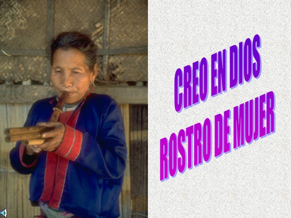 CREO EN DIOS ROSTRO DE MUJER