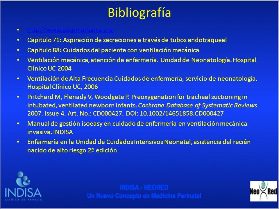 Bibliografía http://www.eccpn.aibarra.org