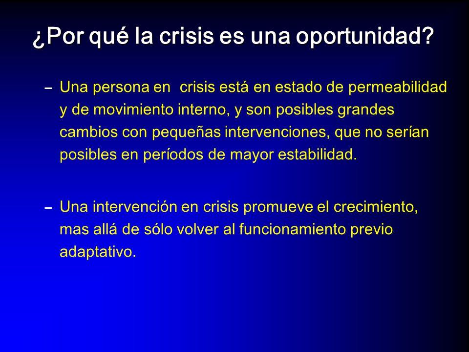 ¿Por qué la crisis es una oportunidad