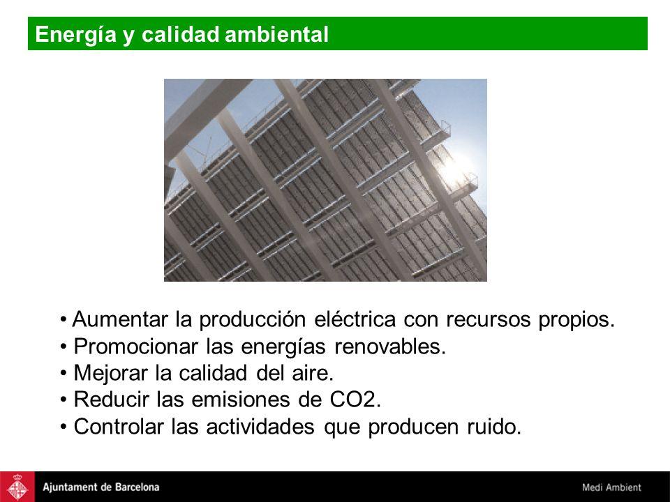 Energía y calidad ambiental