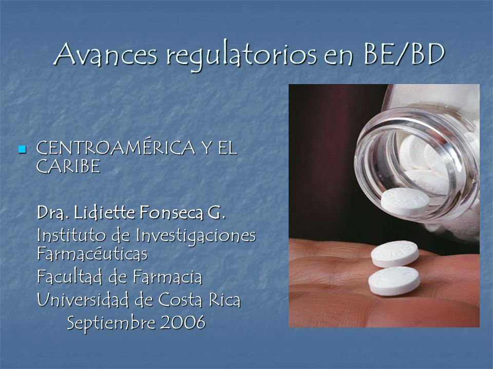 Avances regulatorios en BE/BD