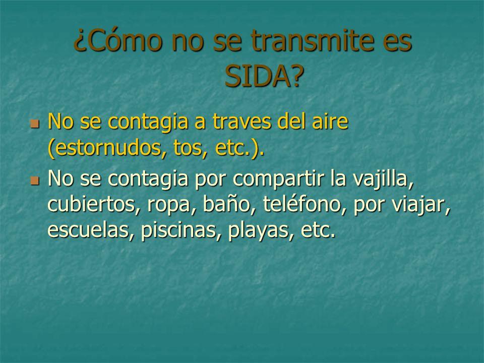 Sida aspectos eticos ppt descargar for El sida se contagia por saliva