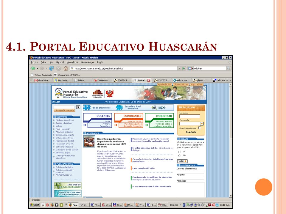 4.1. Portal Educativo Huascarán
