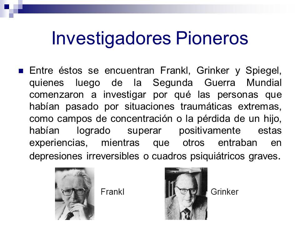 Investigadores Pioneros
