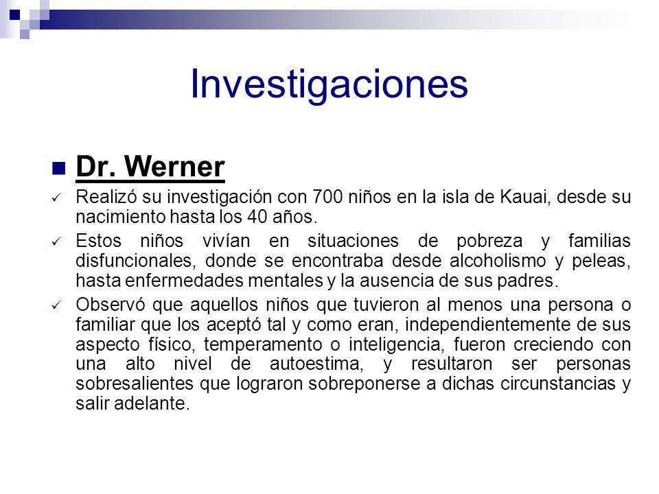 Investigaciones Dr. Werner
