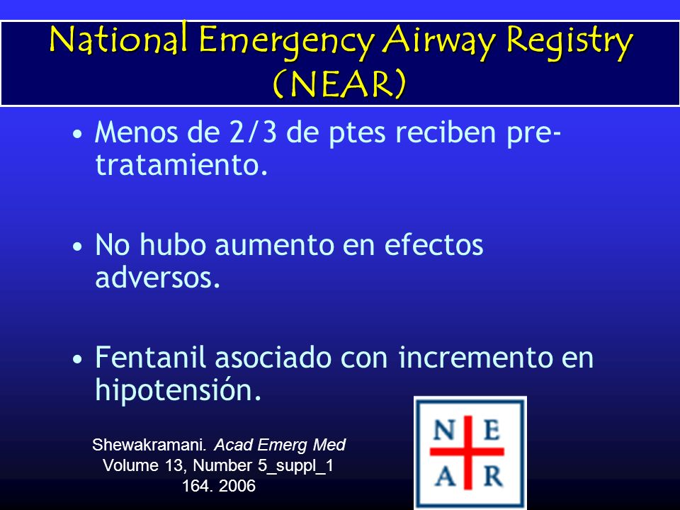 National Emergency Airway Registry (NEAR)