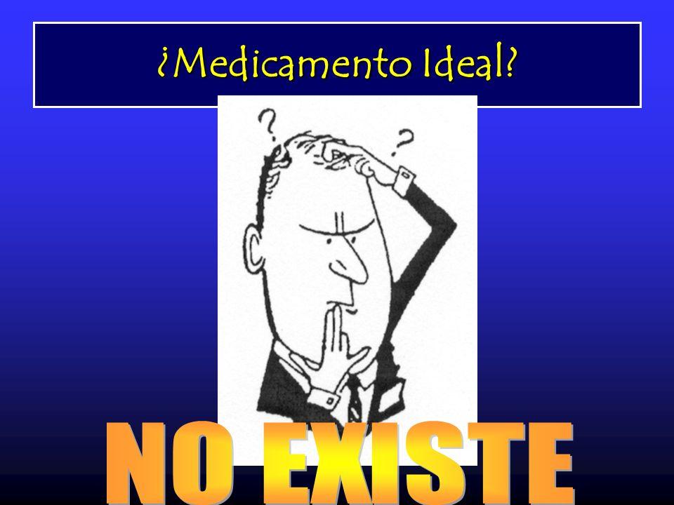 ¿Medicamento Ideal NO EXISTE