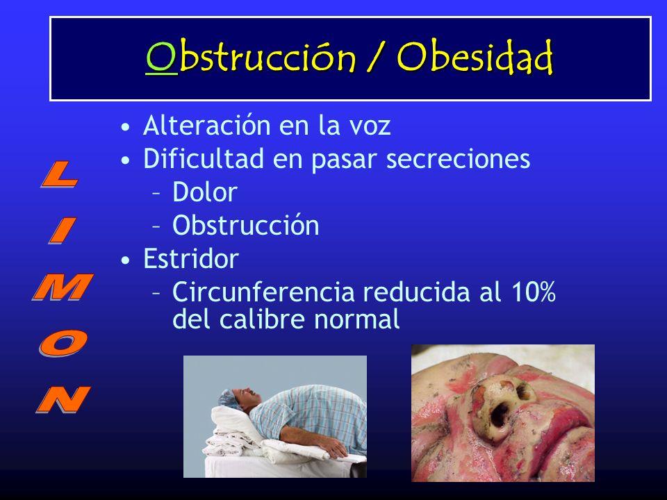 Obstrucción / Obesidad