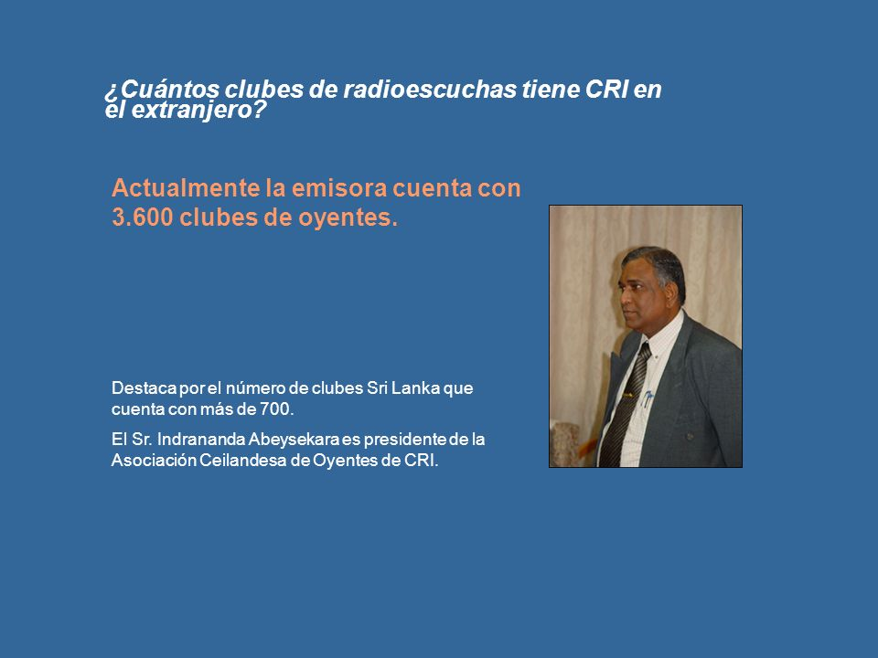 ¿Cuántos clubes de radioescuchas tiene CRI en el extranjero