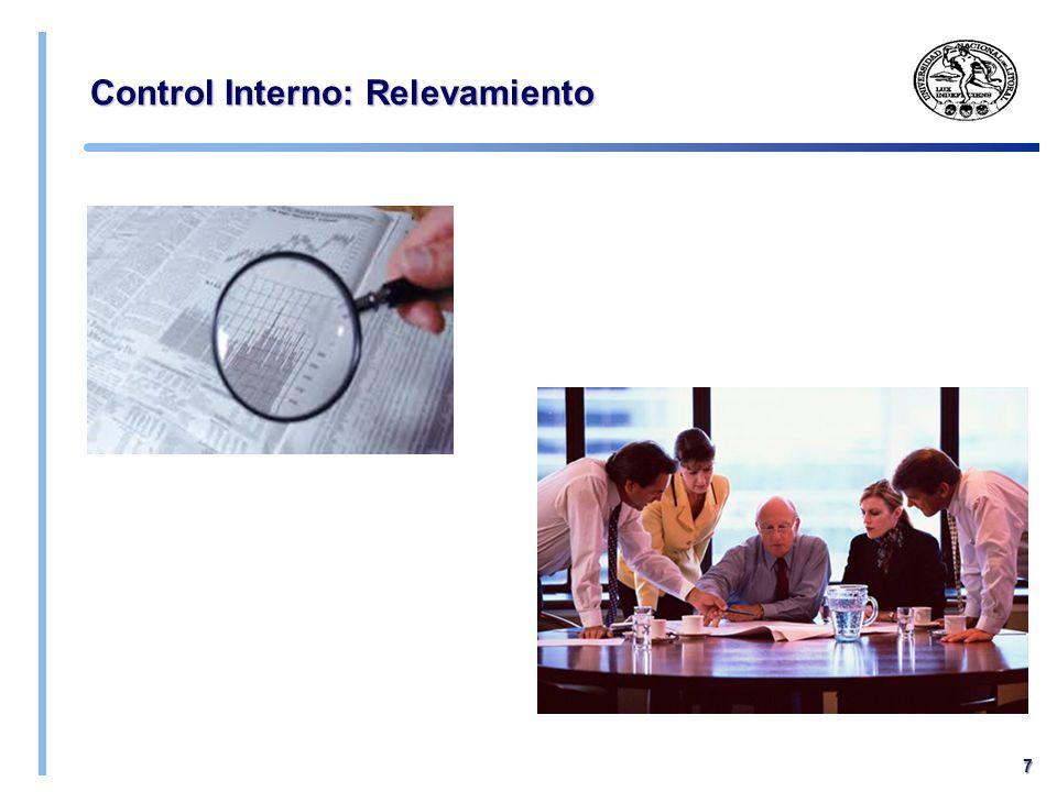 Control Interno: Relevamiento