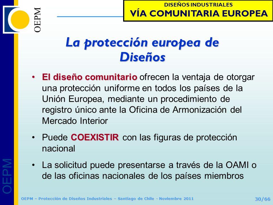 VÍA COMUNITARIA EUROPEA La protección europea de